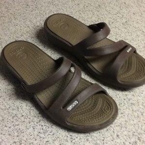 Crocs Patricia wedge sandals